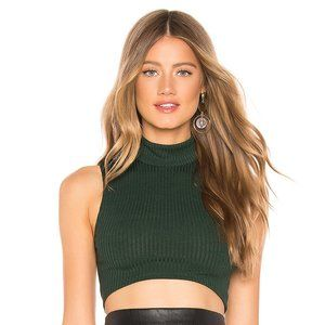 NEW Lovers + Friends Blaire Top Green Small B49